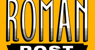 the roman post logo