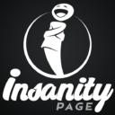 insanity page logo